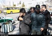 دستگیری سارق مسلح