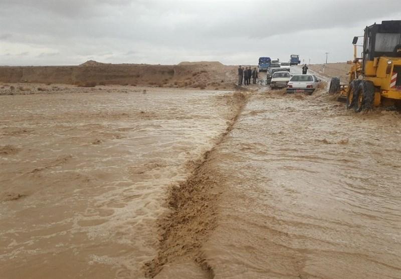 سیلاب 12 محور در جنوب سیستان و بلوچستان را مسدود کرد