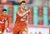 پلیآف لیگ قهرمانان آسیا شکست ذوبآهن مقابل الغرافه و تساوی سایپا - الریان در نیمه نخست