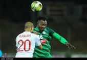 لیگ برتر فوتبال| برتری ذوبآهن مقابل نساجی در 45 دقیقه اول
