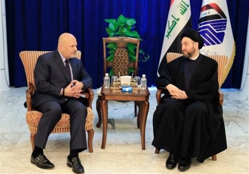 رایزنی مالکی و الحداد درباره تکمیل کابینه عراق/ درخواست حکیم از سازمان ملل درباره داعش