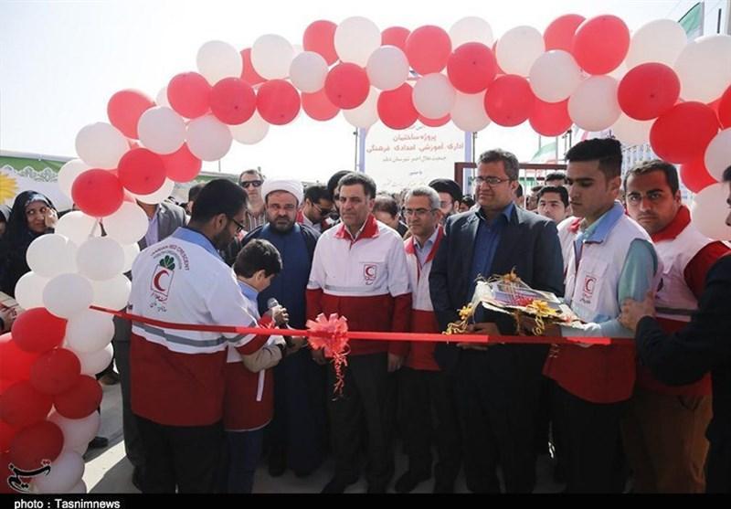 افتتاح مرکز کنترل و هماهنگی عملیات جمعیت هلال احمر بوشهر به روایت تصویر
