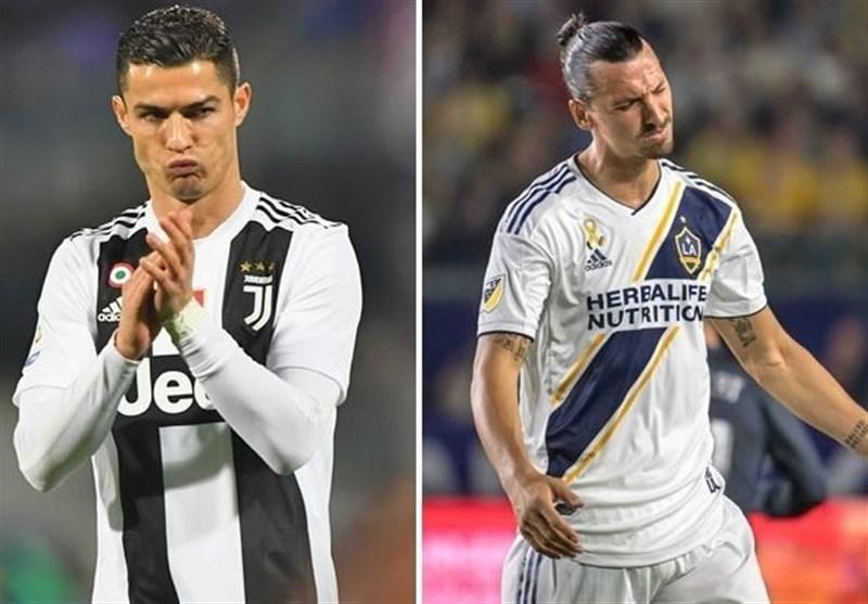 فوتبال جهان| ابراهیموویچ: انتقال رونالدو به یوونتوس اتفاق بزرگی بود اما یک چالش نیست