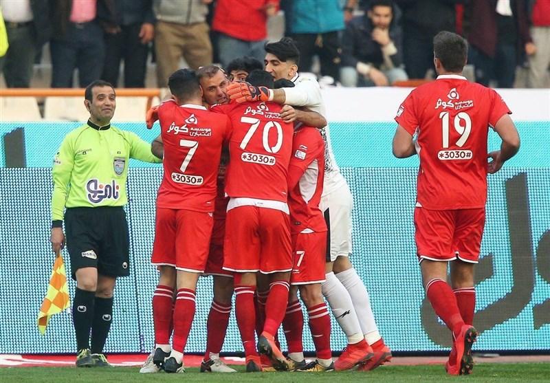 لیگ برتر فوتبال|پیروزی 2 گله پرسپولیس برای بازگشت به صدر جدول/ سرخپوشان انتقام فولاد را از استقلال گرفتند