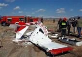 2 کشته در سقوط هواپیمای فوق سبک آموزشی در کاشمر