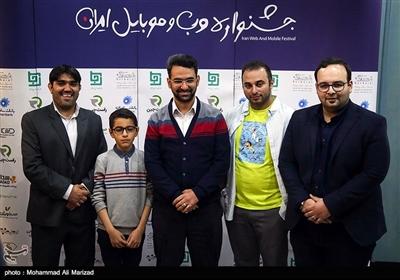 بازدید محمدجواد آذری جهرمی وزیر ارتباطات و فناوری از جشنواره وب و موبایل ایران