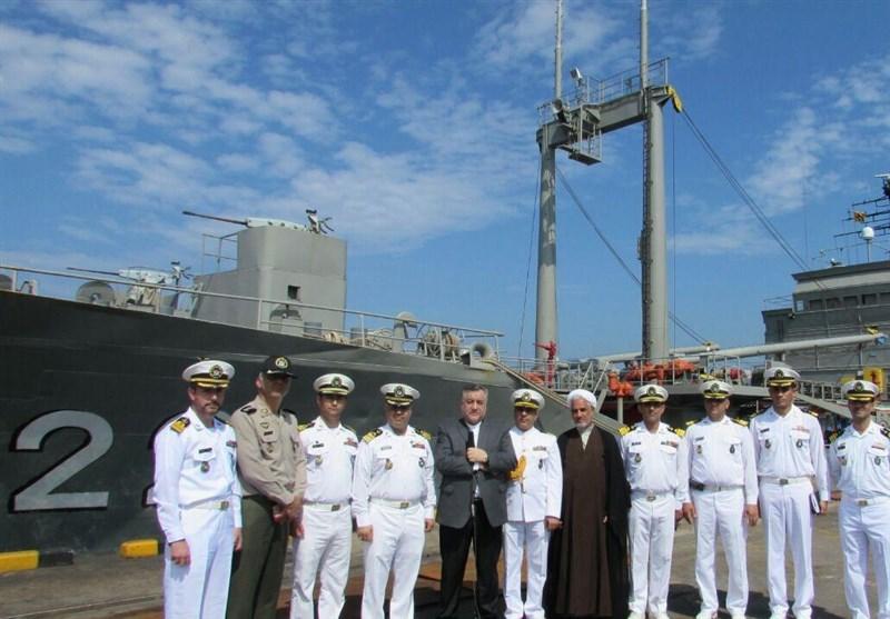 ناوگروه شصتم نیروی دریایی ارتش در بندر کلمبو پهلو گرفت