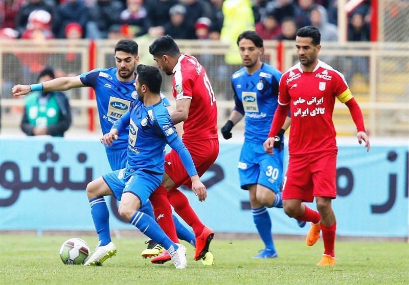 لیگ برتر فوتبال| تساوی یک نیمهای تراکتورسازی و استقلال