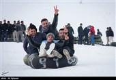 تفریحات مردم در پیست اسکی خوشاکوی ارومیه به روایت تصویر