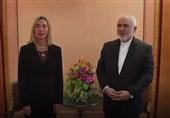 بروکسل: ظریف و موگرینی درباره اجرای برنامه اقدام FATF گفتوگو کردند