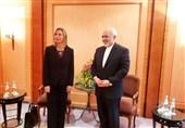 وزیر الخارجیة الإیرانی یلتقی موغیرینی فی میونخ