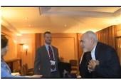حرکت دیپلماتیک ظریف برای امتناع از مصافحه با خانم استرالیایی