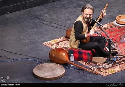 گروه رستاک در سومین شب سی و چهارمین جشنواره موسیقی فجر