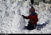 مهرجان رجل الثلج فی بجنورد شرق ایران