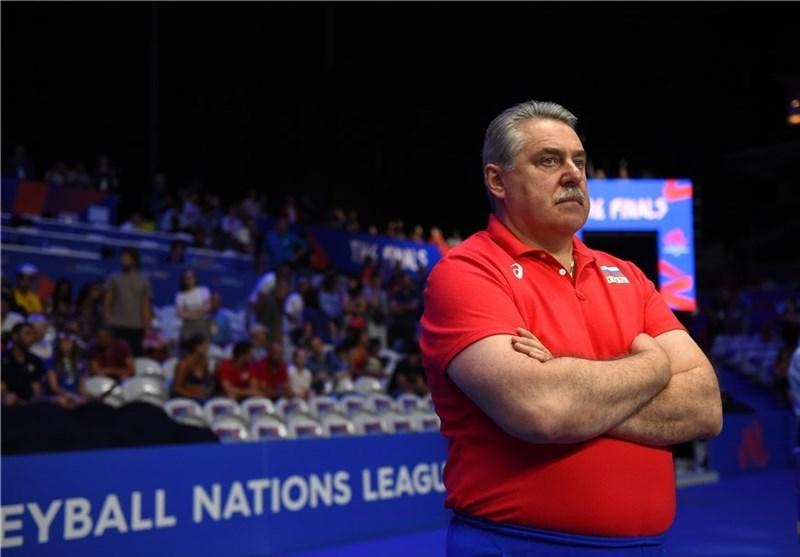 تیم ملی والیبال روسیه به دنبال سرمربی