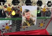 اصفهان| پیکر جوانترین شهید حادثه تروریستی زاهدان تشییع شد + تصاویر