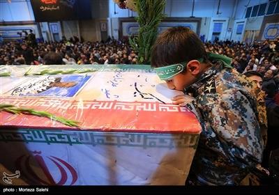 مراسم وداع با شهدای حادثه تروریستی زاهدان در اصفهان