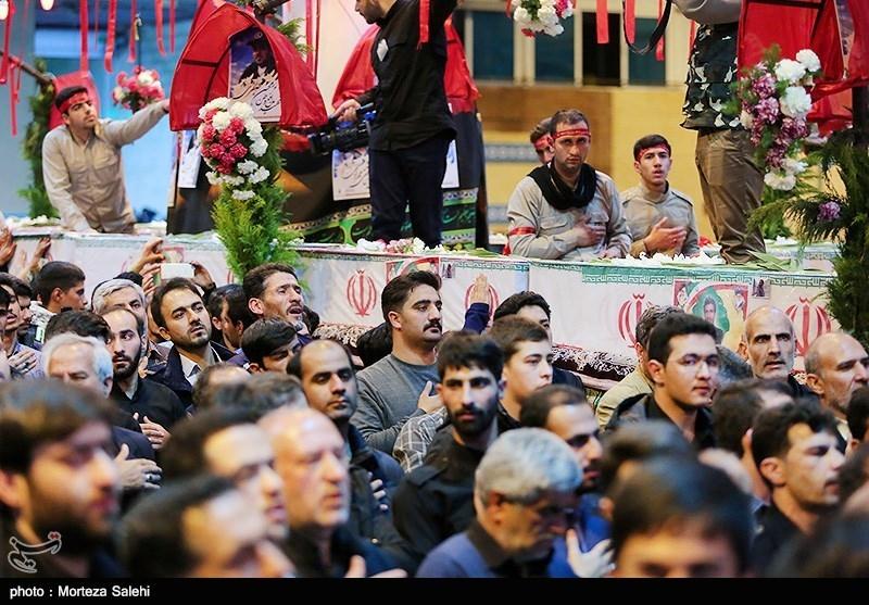 اصفهان| حضور نمایندگان سران طوایف سیستان و بلوچستان در تشییع شهدای مدافع وطن