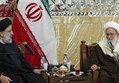 حجتالاسلام رئیسی: شیخ عیسی قاسم پرچمدار احیای حقوق شهروندی مسلمانان بحرین است