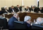 غیبت روحانی، لاریجانی، احمدینژاد و ۸ عضو مجمع در جلسه بررسی «پالرمو»+ عکس