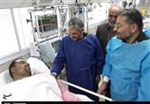 اصفهان| فرمانده کل سپاه از مجروحان حادثه تروریستی زاهدان عیادت کرد + تصویر
