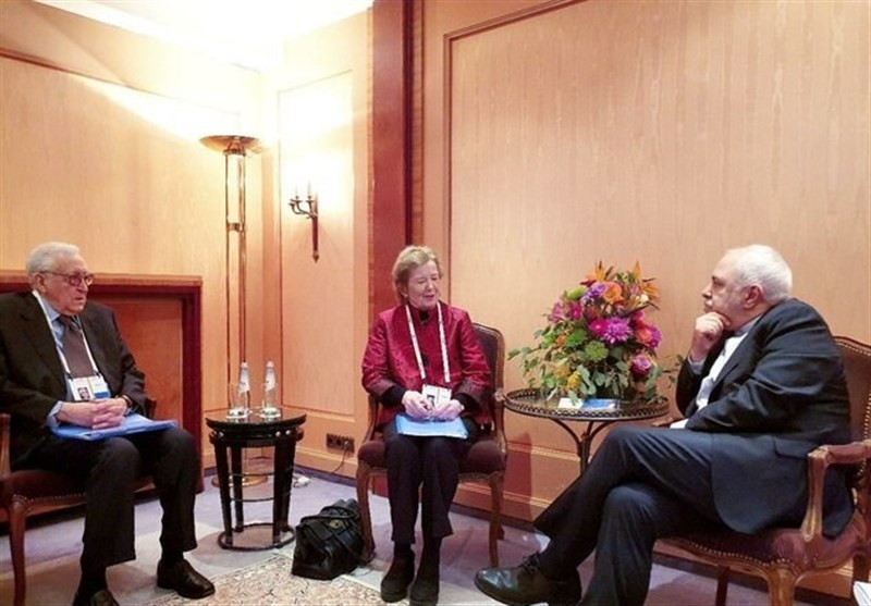 Iran's Foreign Minister Holds Meetings in Munich