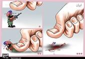 کاریکاتور/ انتقامخونشهدای حادثهتروریستیزاهدان را خواهیمگرفت