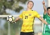 دروازهبان لهستانی تیم امید عراق مقابل ایران