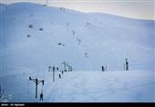 نشاط زمستانی مردم در پیست اسکی «خوشاکو» ارومیه به روایت تصویر