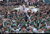اصفهان| حال و هوای نصف جهان از تشییع باشکوه مدافعان امنیت به روایت تصویر