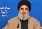 نصرالله: قویتر شدن مقاومت با وجود تمام تحریمها و محاصره/ مصمم به مبارزه با فساد در داخل لبنان هستیم
