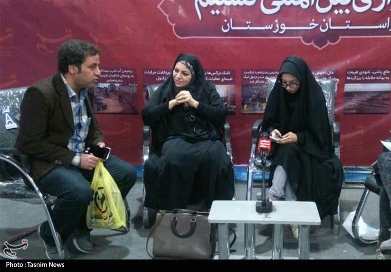غرفه خبرگزاری تسنیم خوزستان در دومین نمایشگاه دیجیتال + تصویر