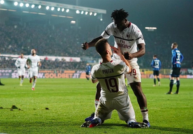 فوتبال جهان|تداوم کامیابیهای میلان با برتری در زمین آتالانتا