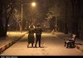 بهار 98|مردم اردبیل سال نو را با برف آغاز میکنند؛ دمای هوا به زیر صفر میرسد