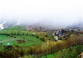 Iran's Beauties in Winter: Suli Waterfall in Azarbaijan