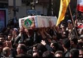 فضای میدان 15خرداد کاشان با تشییع شهدا عاشورایی شد + فیلم