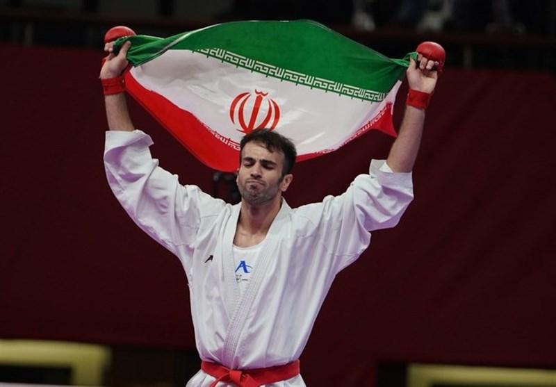 لیگ جهانی کاراته وان دبی| عسگری طلایی شد، فداکار به مدال نقره رسید