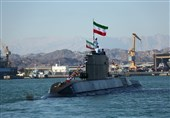 New Submarine Joins Iran's Navy Fleet