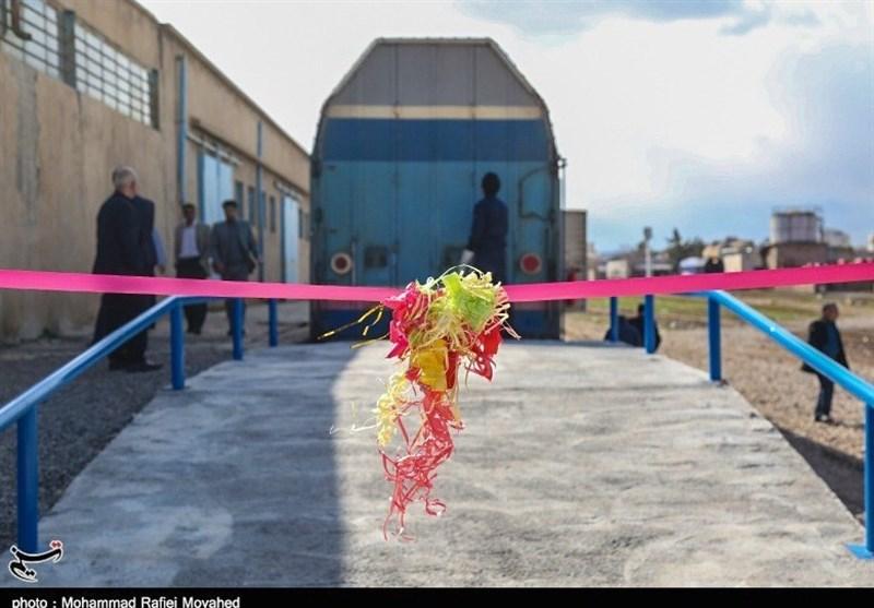 افتتاح سکوی حمل خودرو در ایستگاه راهآهن قم بهروایت تصویر