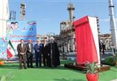 بهرهبرداری از فاز سوم پالایشگاه میعانات گازی ستاره خلیج فارس با حضور رئیس جمهور