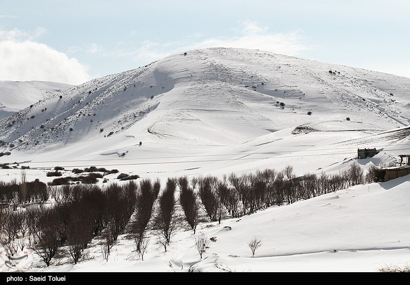 Winter in Iran's Northeastern Province of North Khorasan