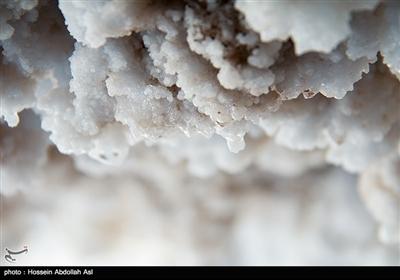 کوه نمک یا گنبد نمکی جاشک در استان بوشهر