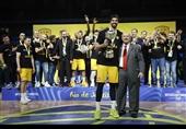 نماینده یونان قهرمان بسکتبال جام بین قارهای شد + تصاویر