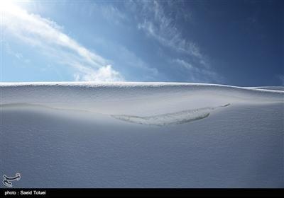 خراسان شمالی میں برف باری کے مناظر