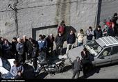 بازسازی صحنه جرم یکی از اراذل و اوباش محله شوش