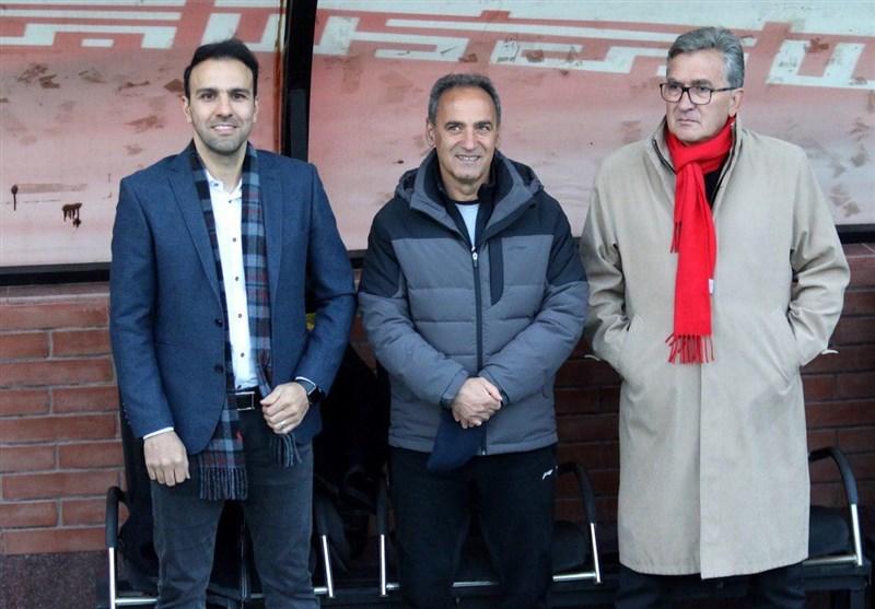 اخبار کوتاه از پرسپولیس| رضایت خلیلی از وضعیت ورزشگاه شهیدکاظمی و جلسه عرب با برانکو