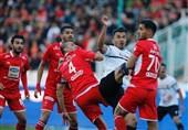 جام حذفی فوتبال|تساوی پرسپولیس و پدیده در نیمه نخست