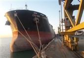سومین کشتی حامل گندم داخلی به بندر چابهار رسید