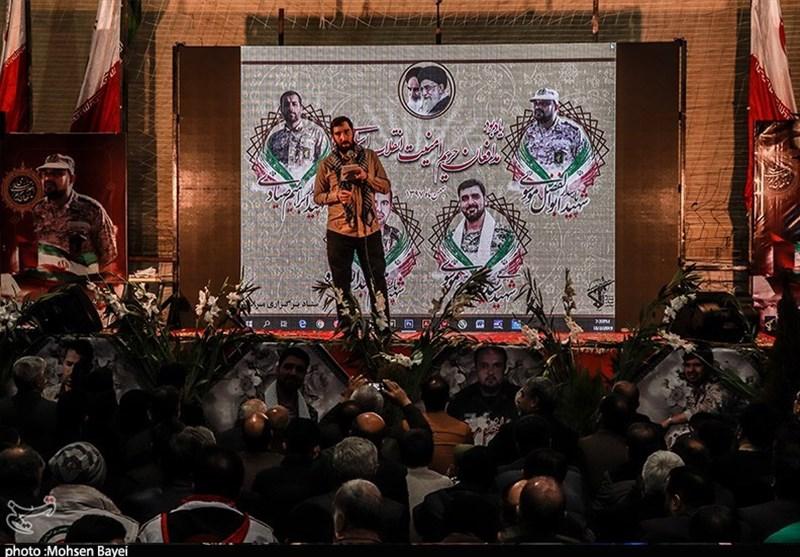 کاشان|مراسم گرامیداشت شهدای مدافع امنیت به روایت تصویر