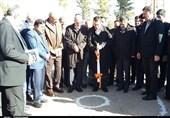 احداث ساختمان جدید بیمارستان ولیعصر(عج) شهربابک با حضور وزیر صمت کلنگزنی شد